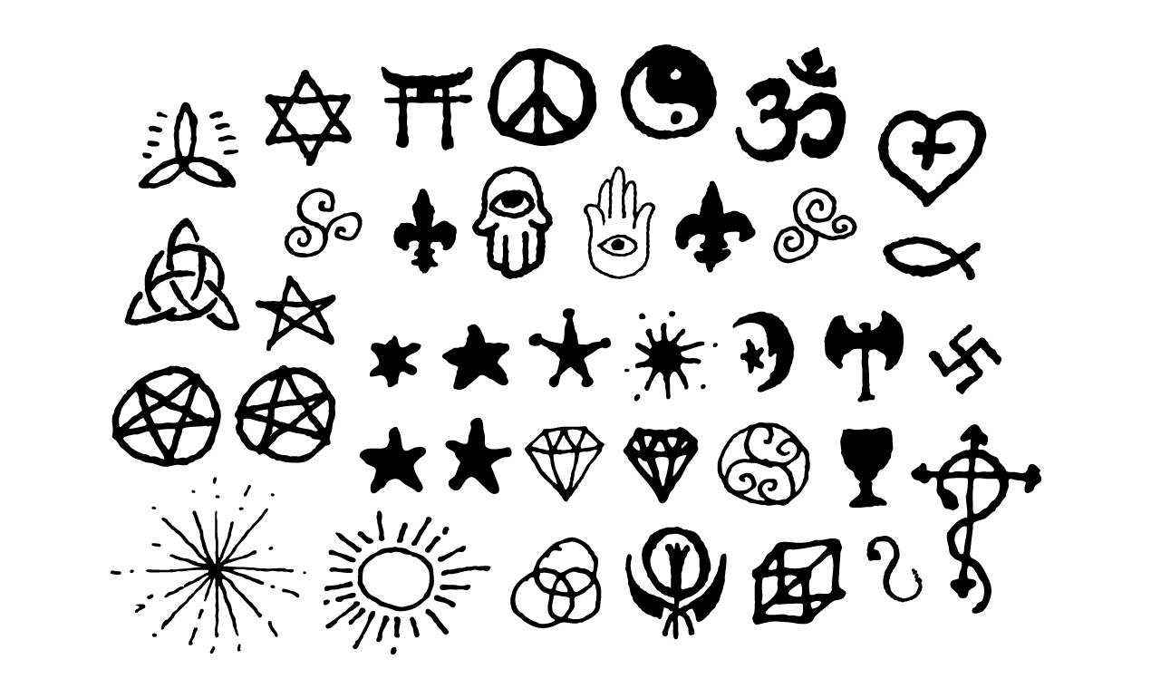 2019 year style- All symbols stylish